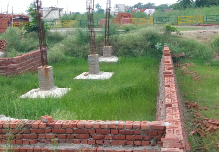 Estimation of Brickwork Foundation of Building(Bricks Calculation)